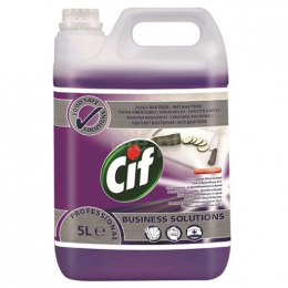 CIF PROFESSIONAL 2IN1 CLEANER DISINFECTANT CONCENTRATE 5L skoncentrowany preparat myjąco-dezynfekcyjny